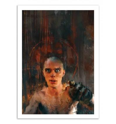 Art-Poster 50 x 70 cm - Witness - Wisesnail