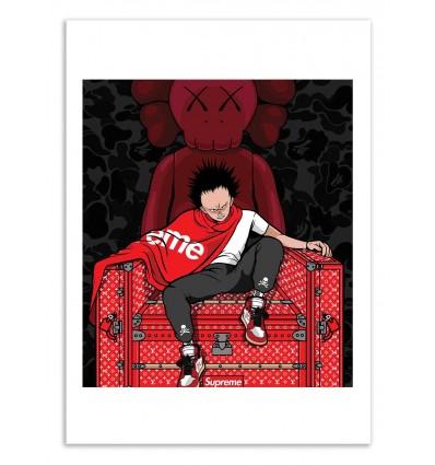 Art-Poster 50 x 70 cm - Supreme Tetsuo - Samuel Ho