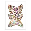 Art-Poster - Banana Leaves - Cat Coquillette