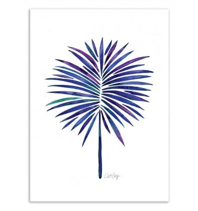 Art-Poster 50 x 70 cm - Fan Leaves - Cat Coquillette