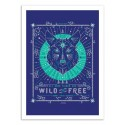 Art-Poster - Wild and Free - Cat Coquillette