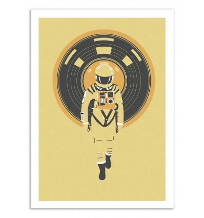 Art-Poster 50 x 70 cm - Dj Hal 9000 - Robert Farkas