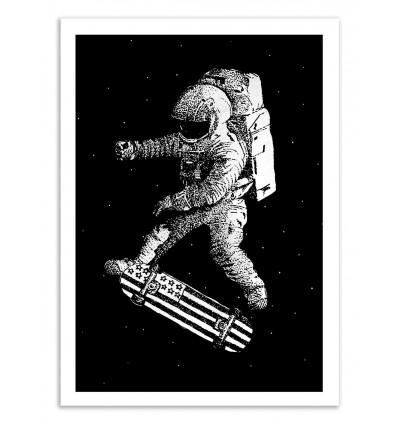 Art-Poster 50 x 70 cm - Kick Flip - Robert Farkas