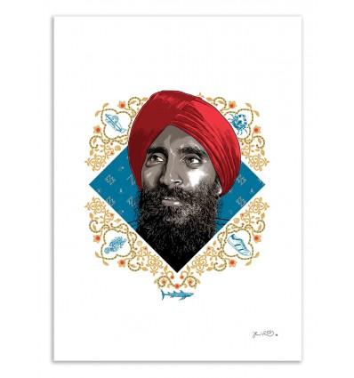 Art-Poster 50 x 70 cm - Vikram - Joshua Budich
