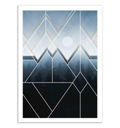 Art-Poster 50 x 70 cm - Fading North - Elisabeth Fredriksson