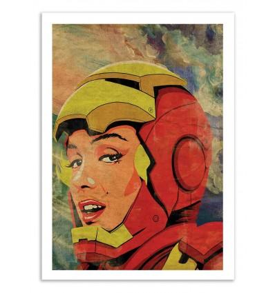Art-Poster 50 x 70 cm - Iron Monroe - Butcher Billy