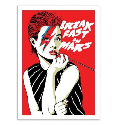 Art-Poster 50 x 70 cm - Breakfast on Mars - Butcher Billy