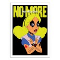 Art-Poster 50 x 70 cm - No More Ms Nice girl - Butcher Billy
