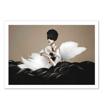 Art-Poster 50 x 70 cm - Let Go - Ruben Ireland