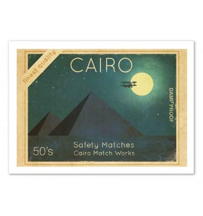 Art-Poster 50 x 70 cm - Cairo - Terry Fan