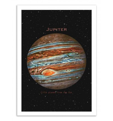 Art-Poster 50 x 70 cm - Jupiter - Terry Fan