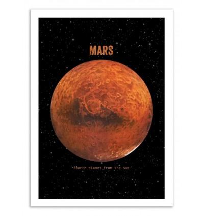 Art-Poster 50 x 70 cm - Mars - Terry Fan