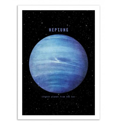 Art-Poster 50 x 70 cm - Neptune - Terry Fan