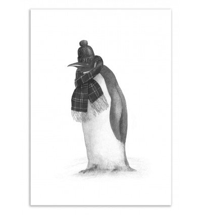 Art-Poster 50 x 70 cm - South Pole essentials - Terry Fan