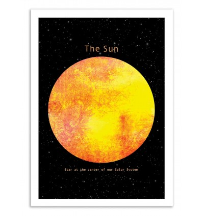 Art-Poster 50 x 70 cm - The Sun - Terry Fan