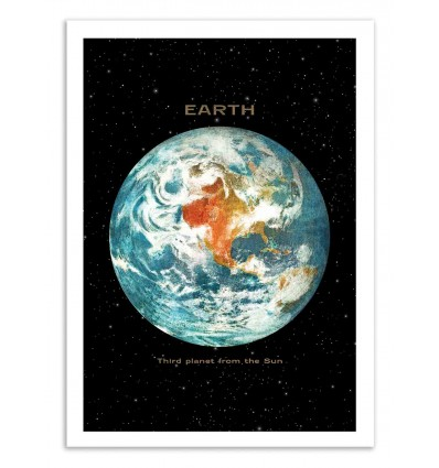 Art-Poster 50 x 70 cm - Earth - Terry Fan