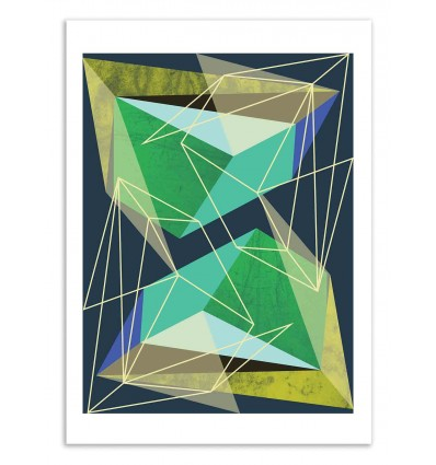 Art-Poster 50 x 70 cm - Colorblock 2 - Susana Paz