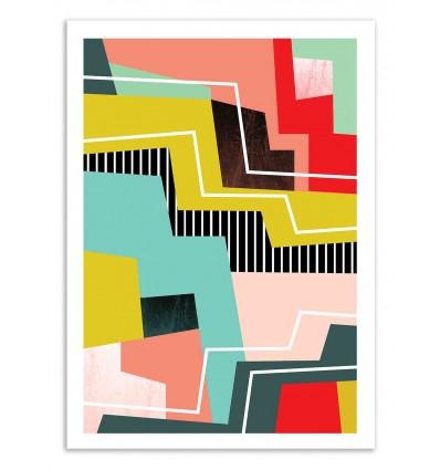 Art-Poster 50 x 70 cm - Colorblock - Susana Paz