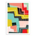 Art-Poster - Colorblock - Susana Paz