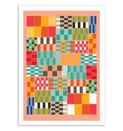 Art-Poster 50 x 70 cm - Colorshot 2 - Susana Paz