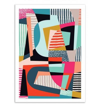 Art-Poster 50 x 70 cm - Colorshot - Susana Paz