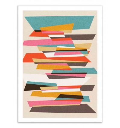 Art-Poster 50 x 70 cm - Fragments 2 - Susana Paz