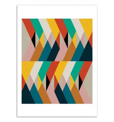 Art-Poster 50 x 70 cm - Fragments - Susana Paz