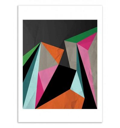 Art-Poster 50 x 70 cm - Geometrics - Susana Paz