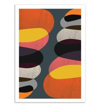 Art-Poster 50 x 70 cm - Graphic - Susana Paz