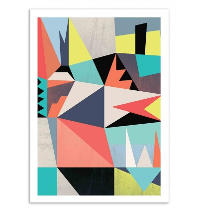 Art-Poster 50 x 70 cm - Graphic 2 - Susana Paz