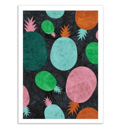 Art-Poster 50 x 70 cm - Paper Pineapple - Susana Paz