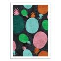 Art-Poster - Paper Pineapple - Susana Paz