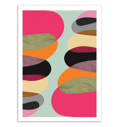 Art-Poster 50 x 70 cm - Total Balance - Susana Paz