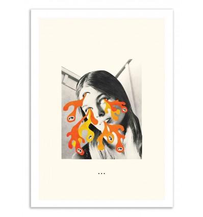 Art-Poster 50 x 70 cm - LSD - Jazzberry Blue