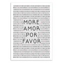 Art-Poster - More amor por favor - Orara Studio