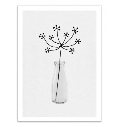Art-Poster 50 x 70 cm - Flower still life - Orara Studio