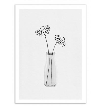 Art-Poster 50 x 70 cm - Flower still life Part 2  - Orara Studio