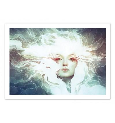 Art-Poster 50 x 70 cm - Bolt - Anna Dittmann
