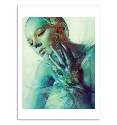 Art-Poster 50 x 70 cm - Hover - Anna Dittmann