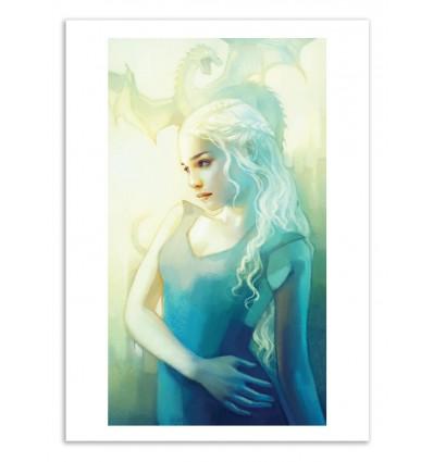 Art-Poster 50 x 70 cm - Khaleesi - Anna Dittmann
