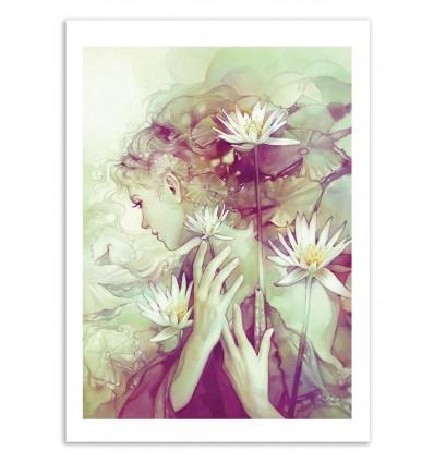 Art-Poster 50 x 70 cm - Pond - Anna Dittmann