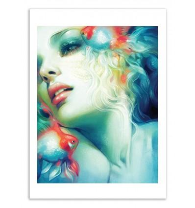 Art-Poster 50 x 70 cm - Scale - Anna Dittmann