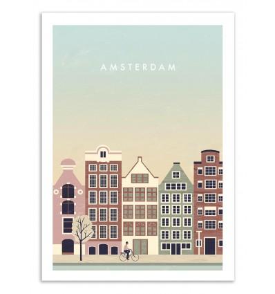 Art-Poster 50 x 70 cm - Amsterdam - Katinka Reinke