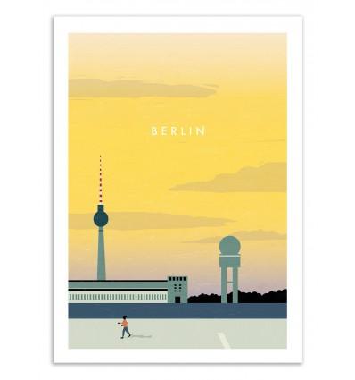 Art-Poster 50 x 70 cm - Berlin - Katinka Reinke