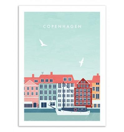 Art-Poster 50 x 70 cm - Copenhagen - Katinka Reinke