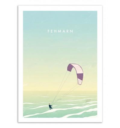 Art-Poster 50 x 70 cm - Fehmarn - Katinka Reinke