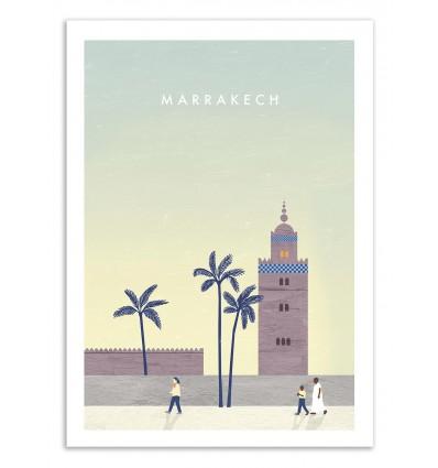 Art-Poster 50 x 70 cm - Marrakech - Katinka Reinke