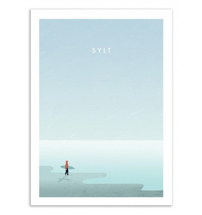 Art-Poster 50 x 70 cm - Sylt - Katinka Reinke
