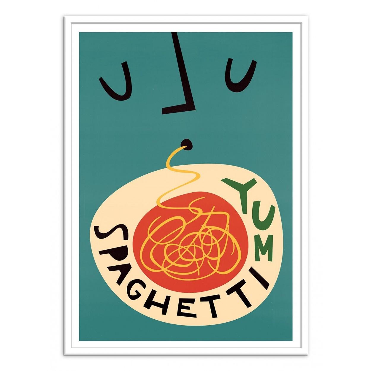 Art-Poster - Spaghetti - Fox and Velvet