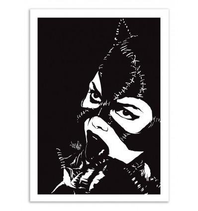 Art-Poster 50 x 70 cm - Cat-tas-tic - Vee Ladwa